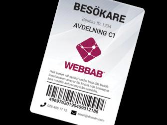 Besöksbricka 335x251 - Plastkort.nu – Beställ billiga plastkort med eget tryck