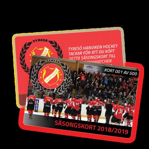 Plastkort - Hanvikens SK 2018 / 2019