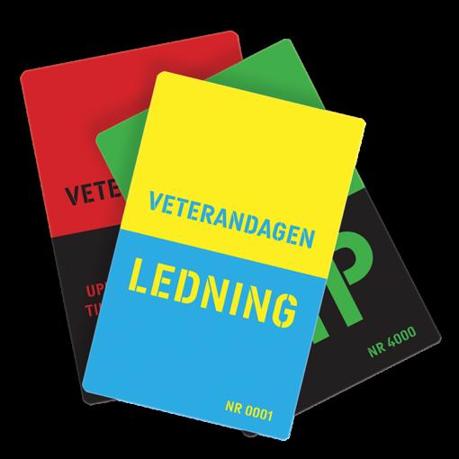 Plastkort - Veterandagen