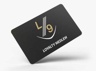 Plastkort L9 medlemskort