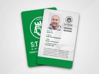 Plastkort digitaltryck S:t Eriks